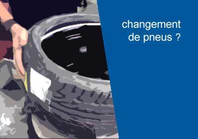 Changement de pneumatique
